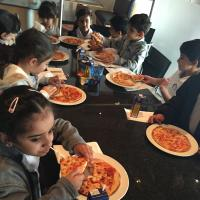 KG1 A and B at Pizza Express