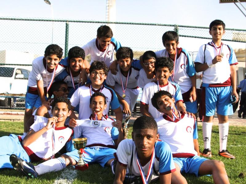 QAK Boys Double-Win in the Football Tournament